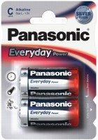 Фото - Аккумуляторная батарейка Panasonic Everyday Power 2xC