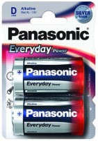 Фото - Аккумуляторная батарейка Panasonic Everyday Power 2xD