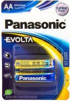 Фото - Аккумуляторная батарейка Panasonic Evolta  2xAA