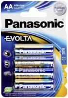 Фото - Аккумулятор / батарейка Panasonic Evolta  4xAA