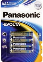 Фото - Аккумулятор / батарейка Panasonic Evolta  4xAAA