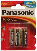 Фото - Аккумуляторная батарейка Panasonic Pro Power  6xAAA