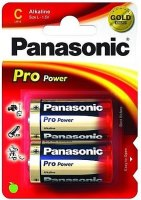 Фото - Аккумулятор / батарейка Panasonic Pro Power 2xC