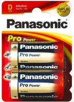Фото - Аккумуляторная батарейка Panasonic Pro Power 2xD