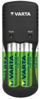 Фото - Зарядка аккумуляторных батареек Varta Pocket Charger + 4xAA 2100 mAh