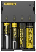 Фото - Зарядка аккумуляторных батареек Nitecore Intellicharger i4 v.2