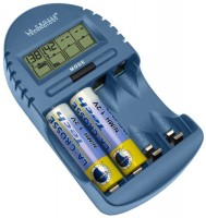 Зарядка аккумуляторных батареек La Crosse BC-500
