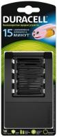 Зарядка аккумуляторных батареек Duracell CEF15
