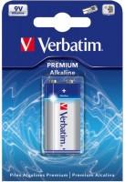 Фото - Аккумулятор / батарейка Verbatim Premium 1xKrona