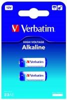 Фото - Аккумулятор / батарейка Verbatim Premium 2xA23