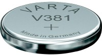 Аккумуляторная батарейка Varta 1xV381