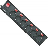 Сетевой фильтр / удлинитель REAL-EL RS-6 Extra 1.8m 1.8м