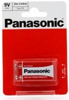 Фото - Аккумуляторная батарейка Panasonic Red Zink 1xKrona