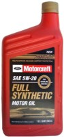 Моторное масло Ford Motorcraft 5W-20 1 л