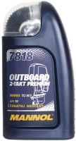Моторное масло Mannol 7818 Outboard 2-Takt Premium 1л