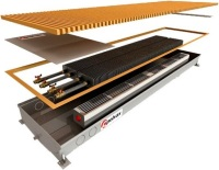 Фото - Радиатор отопления Polvax KVM.D (380/2500/125)