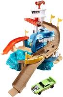 Автотрек / железная дорога Hot Wheels Sharkport Showdown