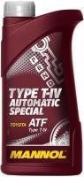 Фото - Трансмиссионное масло Mannol Type T-IV Automatic Special 1л