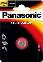Фото - Аккумулятор / батарейка Panasonic 1xCR-1220EL