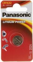 Фото - Аккумулятор / батарейка Panasonic 1xCR-1632EL