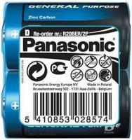 Фото - Аккумулятор / батарейка Panasonic General Purpose 2xD