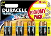 Аккумуляторная батарейка Duracell  8xAA Turbo MN1500