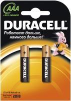 Фото - Аккумуляторная батарейка Duracell  2xAAA MN2400