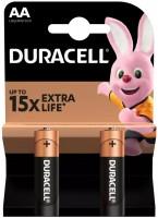Фото - Аккумуляторная батарейка Duracell  2xAA MN1500