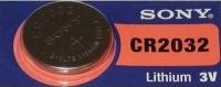 Аккумуляторная батарейка Sony 1xCR2032
