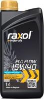 Моторное масло Raxol Eco Flow 15W-40 1л