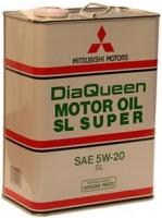 Фото - Моторне мастило Mitsubishi Diaqueen Super 5W-20 SL 4L 4л