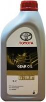 Трансмиссионное масло Toyota LV 75W MT 1L 1л