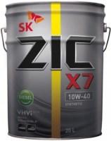 Моторное масло ZIC X7 10W-40 Diesel 20L