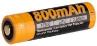 Аккумуляторная батарейка Fenix ARB-L14 800 mAh