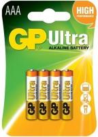 Фото - Аккумулятор / батарейка GP Ultra Alkaline  4xAAA
