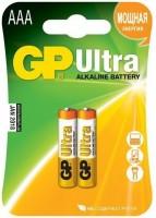 Фото - Аккумуляторная батарейка GP Ultra Alkaline  2xAAA