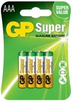 Аккумуляторная батарейка GP Super Alkaline 4xAAA