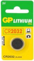 Фото - Аккумулятор / батарейка GP  1xCR2032