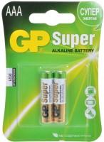 Фото - Аккумуляторная батарейка GP Super Alkaline  2xAAA