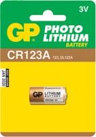 Аккумуляторная батарейка GP Photo 1xCR123A