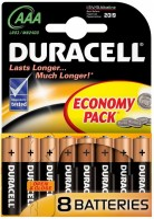Фото - Аккумулятор / батарейка Duracell  8xAAA MN2400