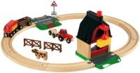 Фото - Автотрек / железная дорога BRIO Farm Railway Set 33719