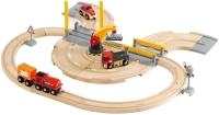 Фото - Автотрек / железная дорога BRIO Rail and Road Crane Set 33208