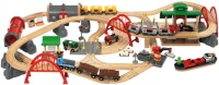 Автотрек / железная дорога BRIO Deluxe Railway Set 33052