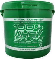Протеїн Scitec Nutrition 100% Whey Isolate 4кг