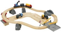 Фото - Автотрек / железная дорога BRIO Rail and Road Loading Set 33210