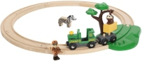 Автотрек / железная дорога BRIO Safari Railway Set 33720