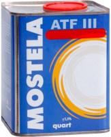 Фото - Трансмиссионное масло Mostela ATF III 1L 1л