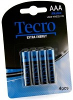 Фото - Аккумулятор / батарейка Tecro Extra Energy  4xAAA