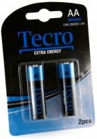 Аккумуляторная батарейка Tecro Extra Energy  2xAA